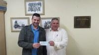 Presidente da Câmara de Vereadores repassa R$ 200.000 ao Poder Executivo